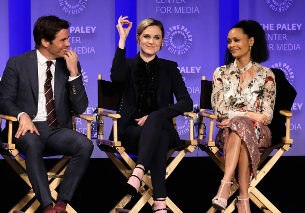 James Marsden, Evan Rachel Wood, Thandie Newton attend 'Westworld' screnning and panel at The Paley Center For Media's 34th Annual PaleyFest Los Angeles at Dolby Theatre on March 25, 2017 in Hollywood, California.