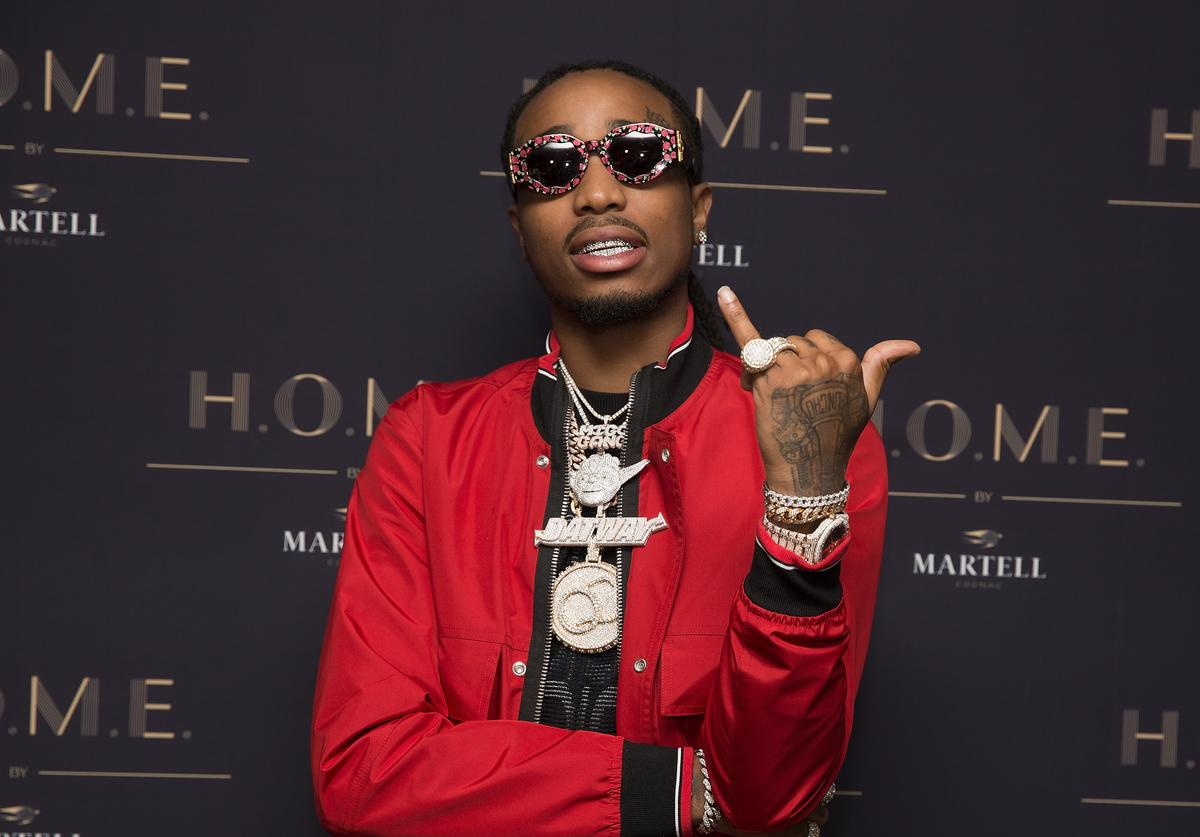 Rapper Quavo of the Migos attends the H.O.M.E by Martell on November 16, 2017 in Houston, Texas.
