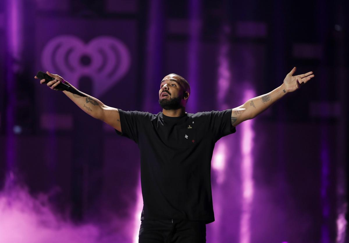 Rapper Drake performs onstage at the 2016 iHeartRadio Music Festival at T-Mobile Arena on September 23, 2016 in Las Vegas, Nevada.