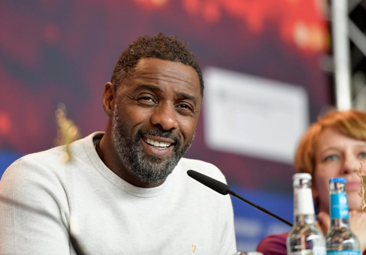 Idris Elba attends the 'Yardie' press conference at The 68th Berlinale International Film Festival at Grand Hyatt Hotel on February 22, 2018 in Berlin, Germany.