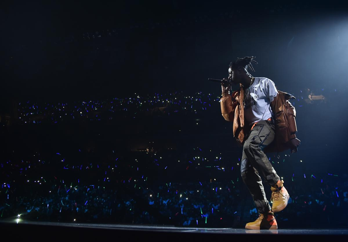 Joey Bada$$ performs onstage during TIDAL X: Brooklyn at Barclays Center of Brooklyn on October 17, 2017 in New York City