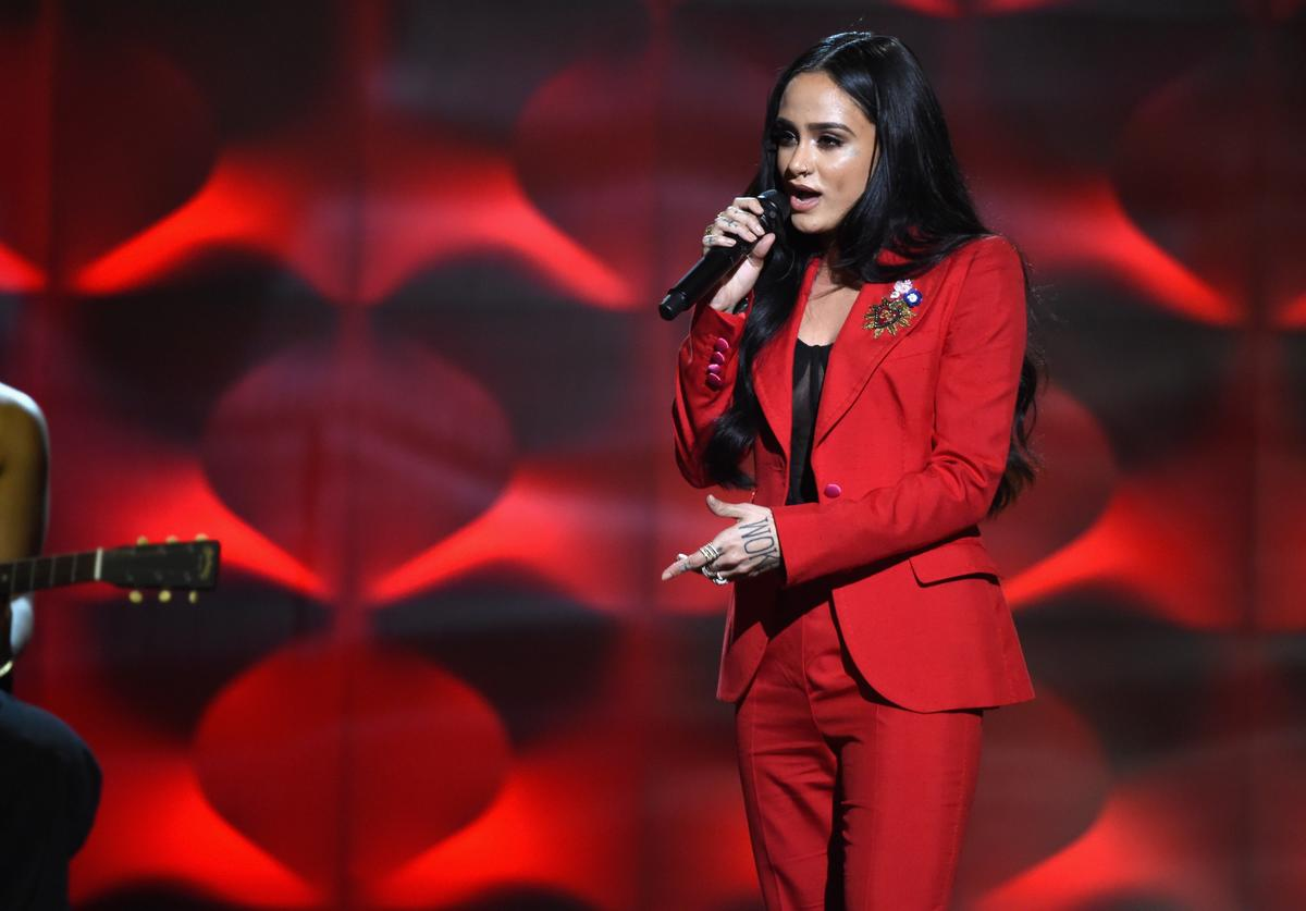 Kehlani performs onstage at Billboard Women In Music 2017 at The Ray Dolby Ballroom at Hollywood & Highland Center on November 30, 2017 in Hollywood, California