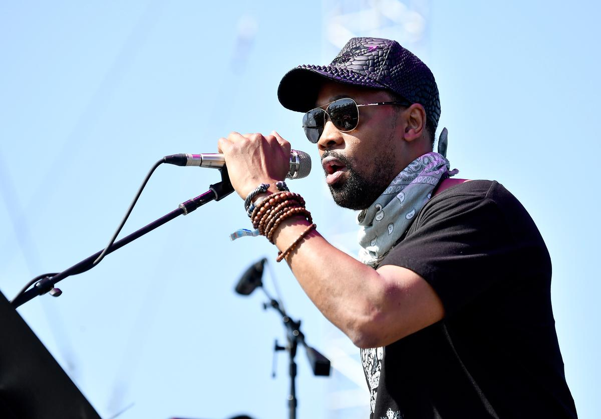 RZA of Banks & Steelz performs on the Outdoor Stage during day 2 of the Coachella Valley Music And Arts Festival (Weekend 1) at the Empire Polo Club on April 15, 2017 in Indio, California.