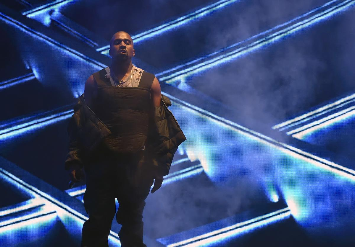 Kanye West performs during the 2015 Billboard Music Awards at MGM Grand Garden Arena on May 17, 2015 in Las Vegas, Nevada