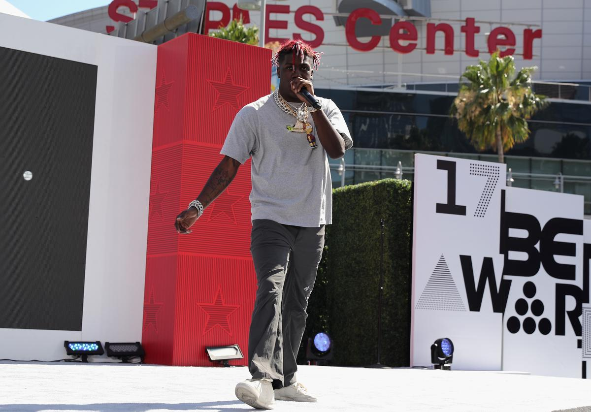 Lil Yachty at Live! Red! Ready! Pre-Show at the 2017 BET Awards at Microsoft Square on June 25, 2017 in Los Angeles, California