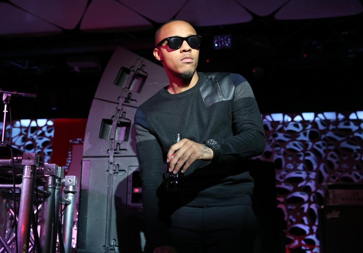 Rapper Bow Wow speaks at the 2015 American Music Awards Pre Party with Coca-Cola at the Conga Room on November 20, 2015 in Los Angeles, California.