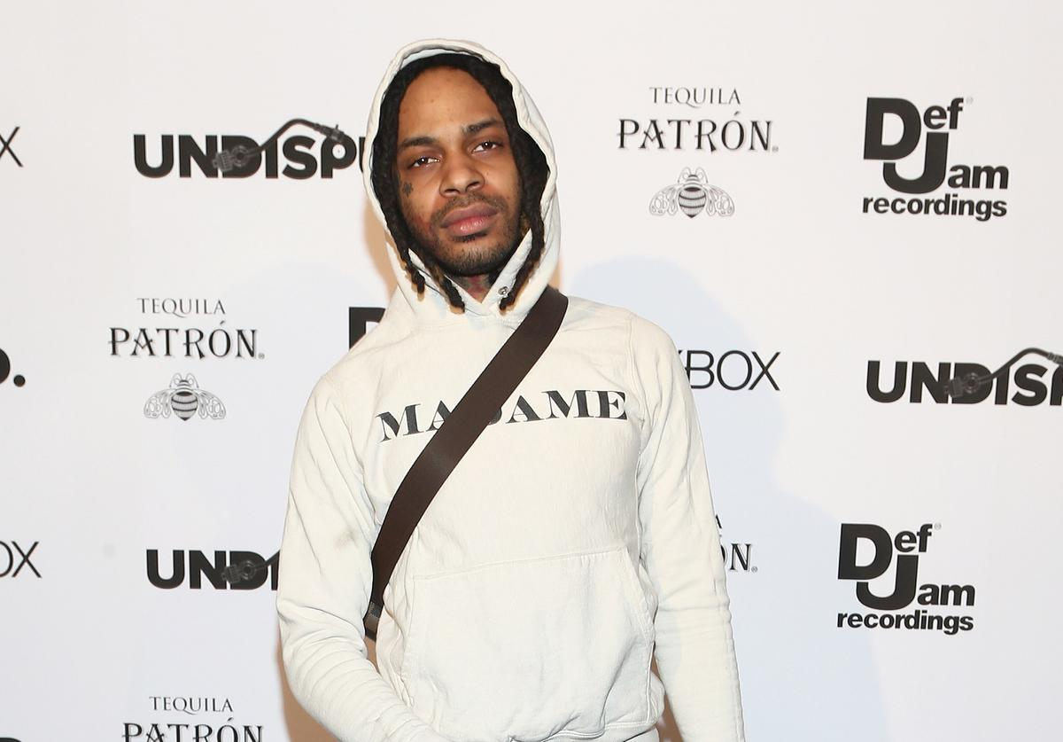 Recording artist Valee attends the Def Jam Celebrates NBA All Star Weekend at Milk Studios in Hollywood With Performances by 2 Chainz, Fabolous & Jadakiss, Presented by Patron Tequila at Milk Studios on February 16, 2018 in Hollywood, California.