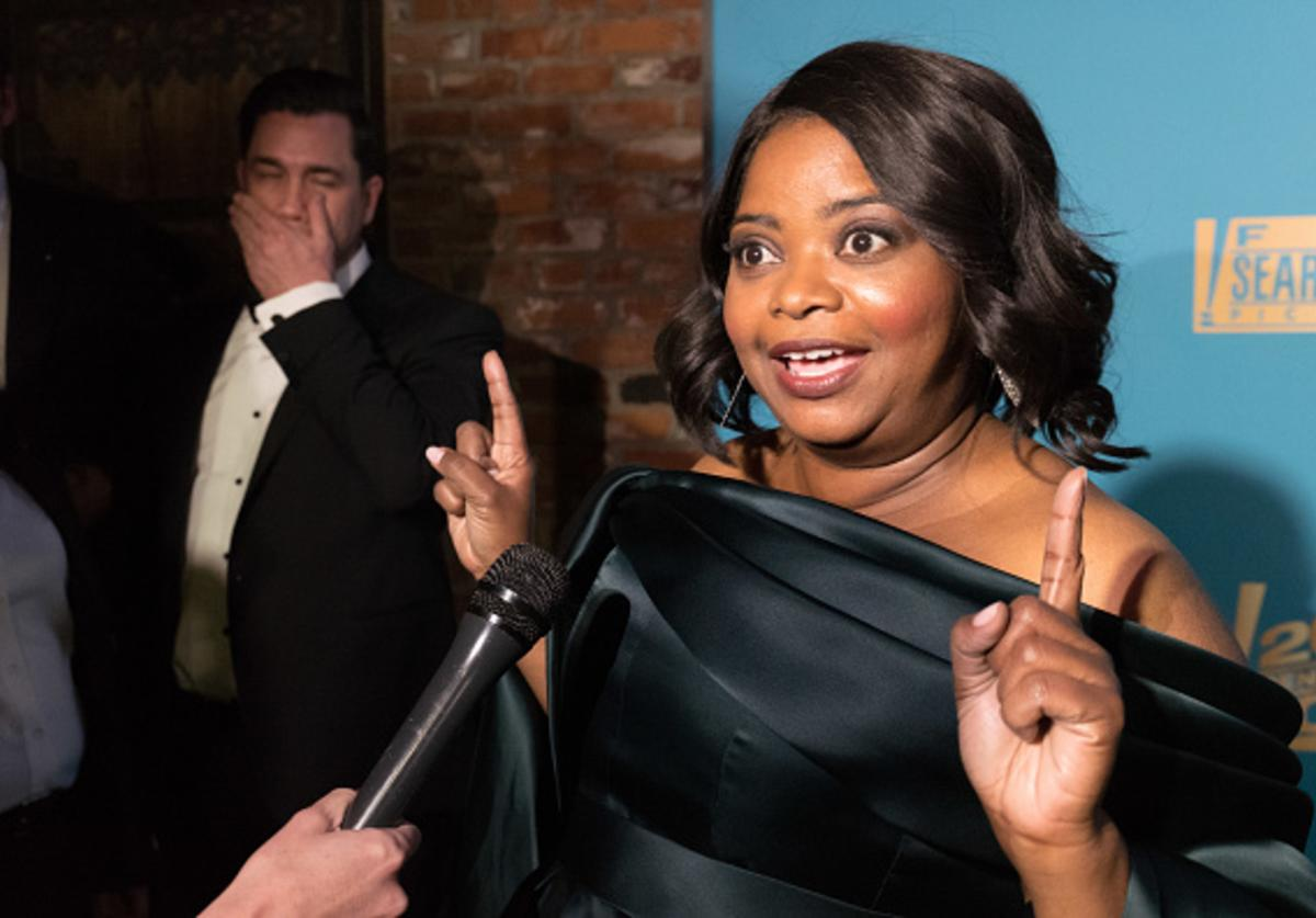 Octavia Spencer attends Fox Searchlight And 20th Century Fox Host Oscars Post-Party on March 4, 2018 in Los Angeles, California.