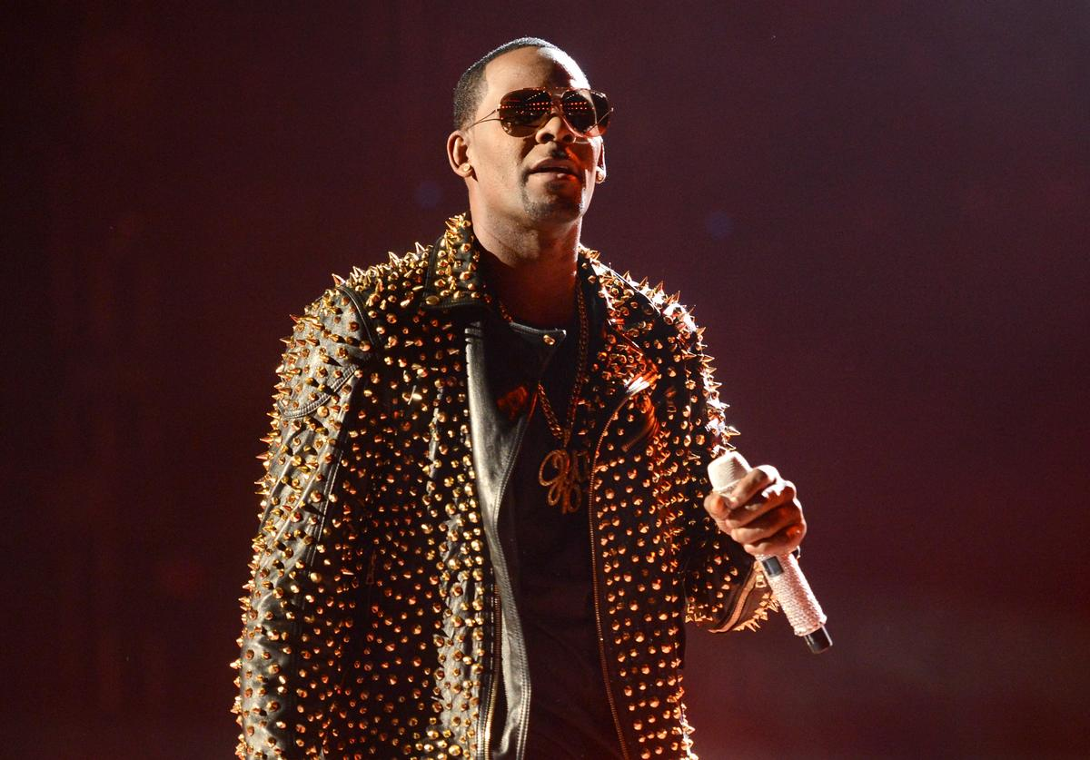 Singer R. Kelly performs onstage during the 2013 BET Awards at Nokia Theatre L.A. Live on June 30, 2013 in Los Angeles, California.