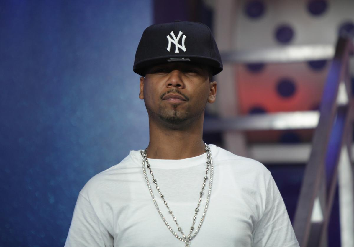 Recording artist Juelz Santana visits BET's '106 & Park' at BET Studios on April 16, 2010 in New York City.