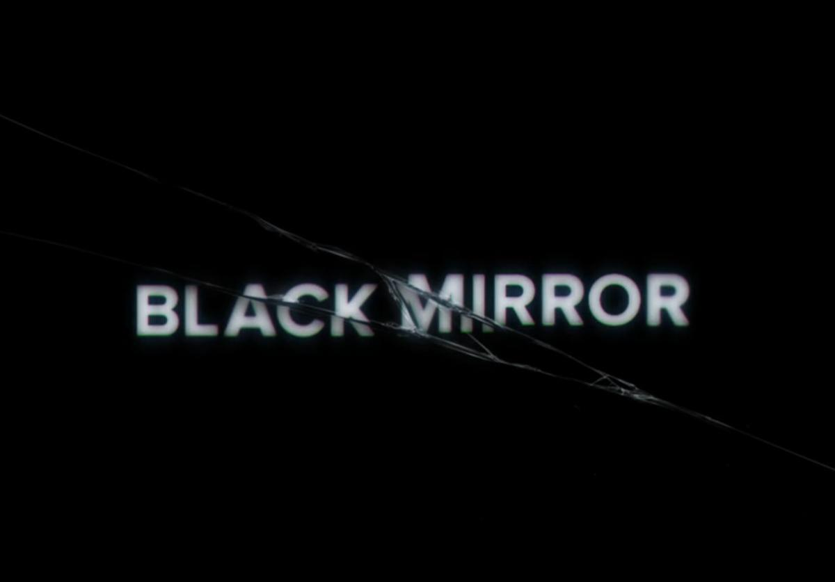 Black Mirror title screen intro