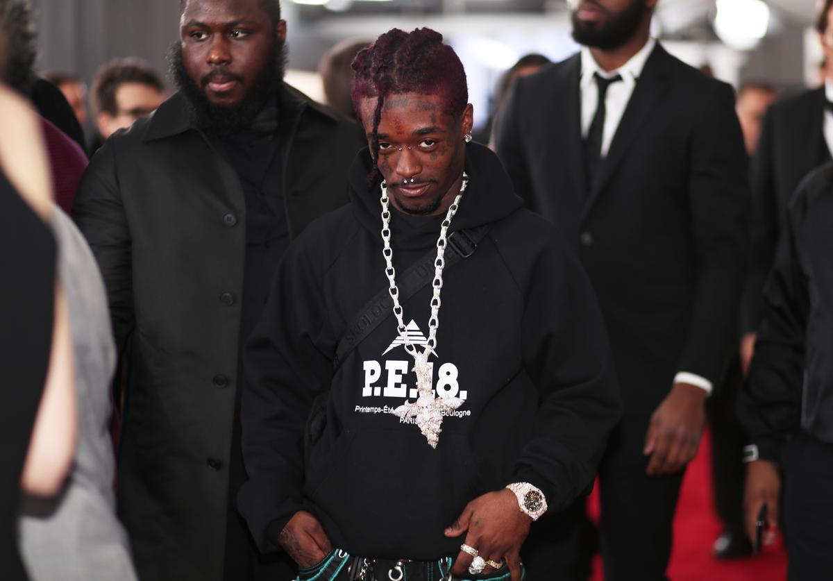 Recording artist Lil Uzi Vert attends the 60th Annual GRAMMY Awards at Madison Square Garden on January 28, 2018 in New York City