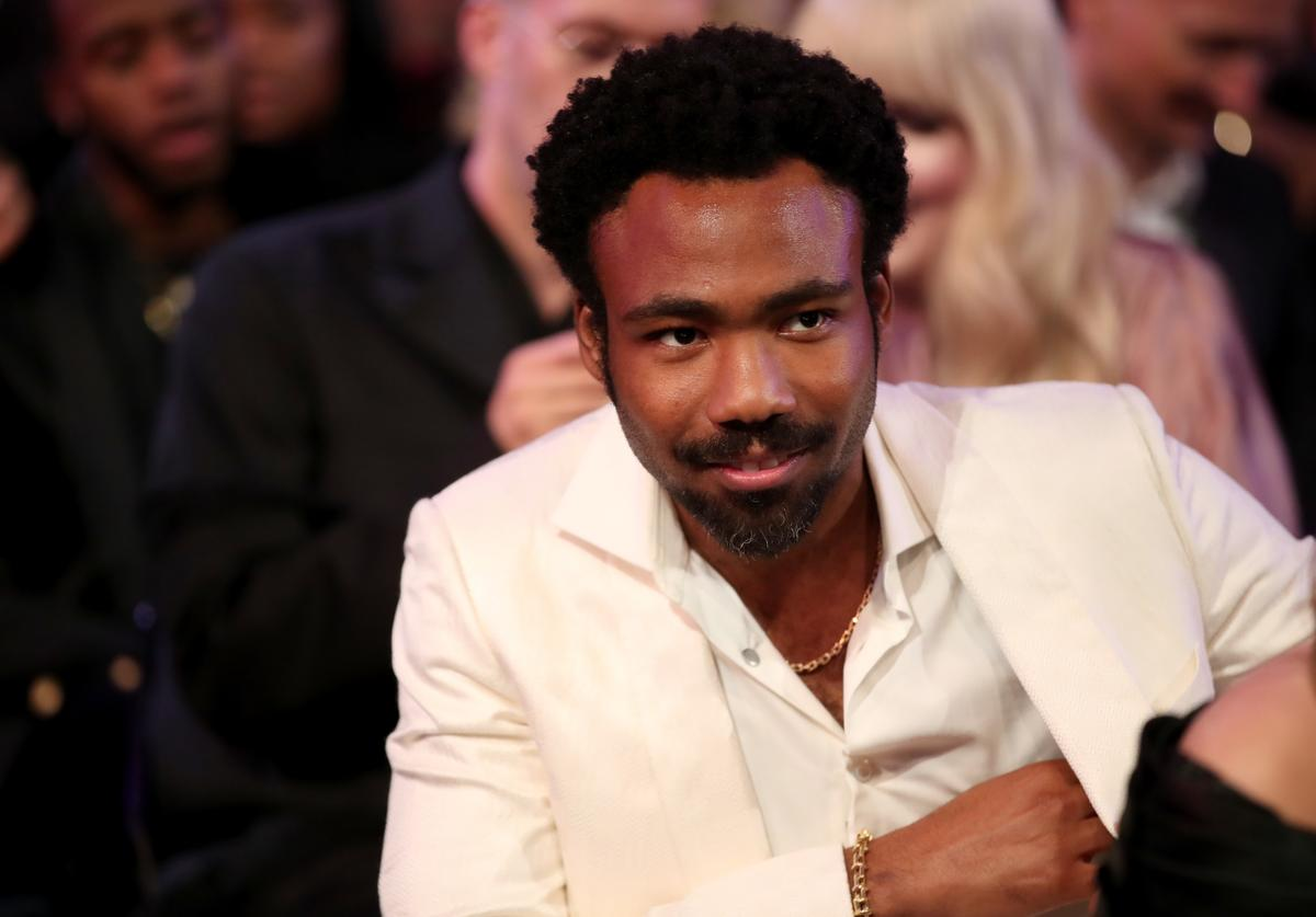 Recording artist Childish Gambino attends the 60th Annual GRAMMY Awards at Madison Square Garden on January 28, 2018 in New York City.