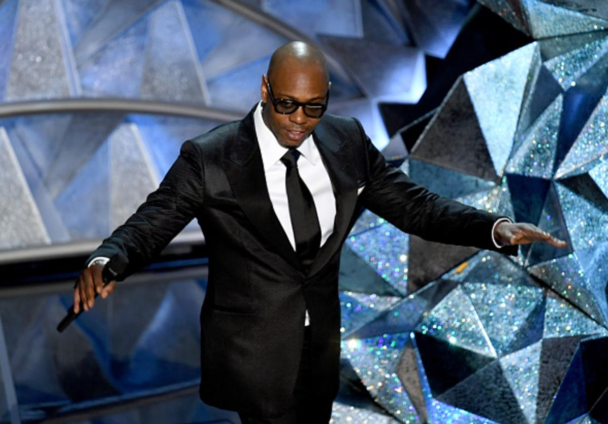 Comedian Dave Chappelle speaks onstage during the 90th Annual Academy Awards at the Dolby Theatre at Hollywood & Highland Center on March 4, 2018 in Hollywood, California.