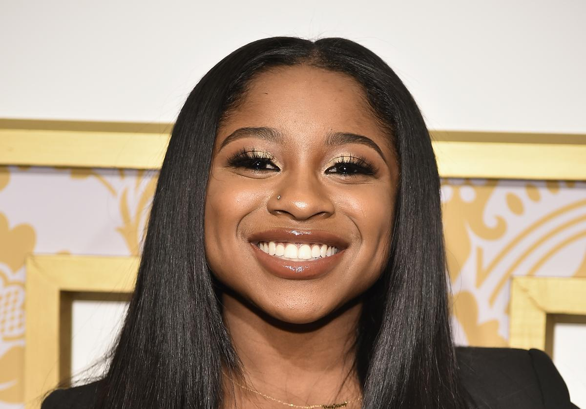 Reginae Carter attends the 2018 Roc Nation Pre-Grammy Brunch at One World Trade Center on January 27, 2018 in New York City.