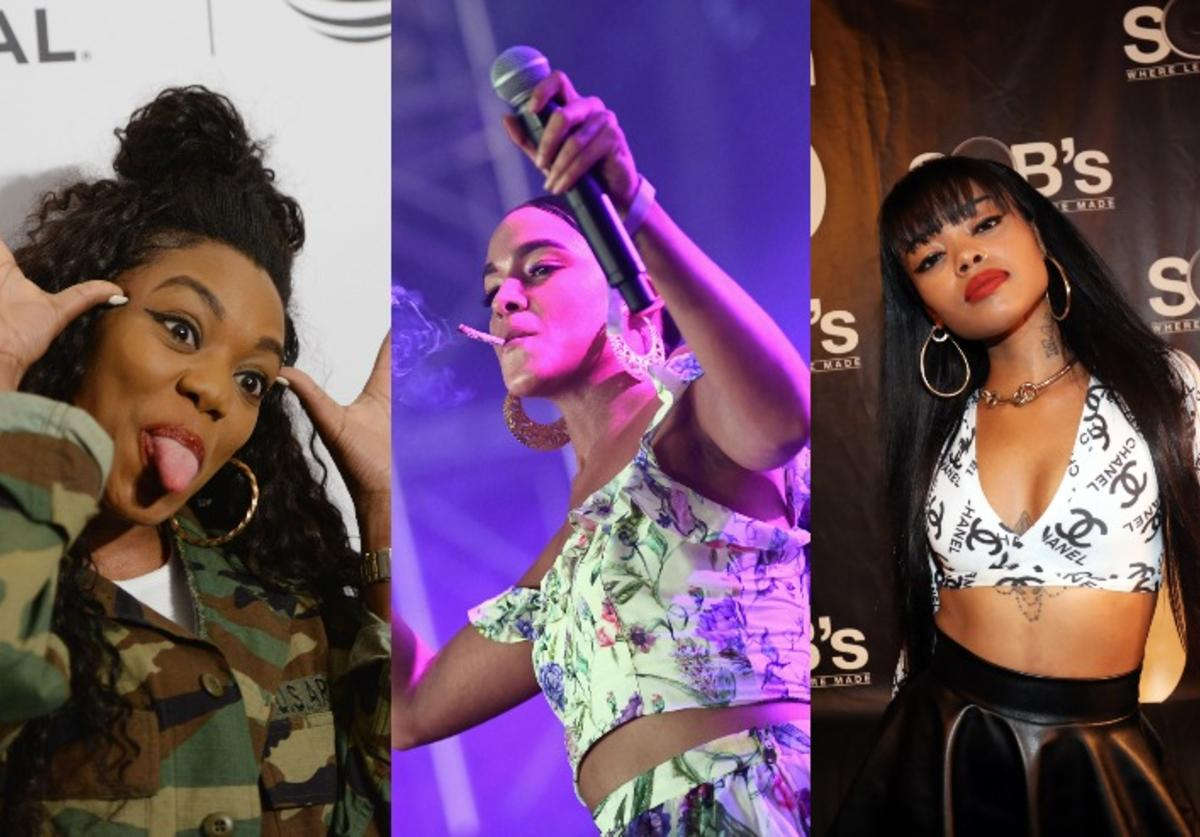 Lady Leshurr, Princess Nokia, Maliibu Miitch