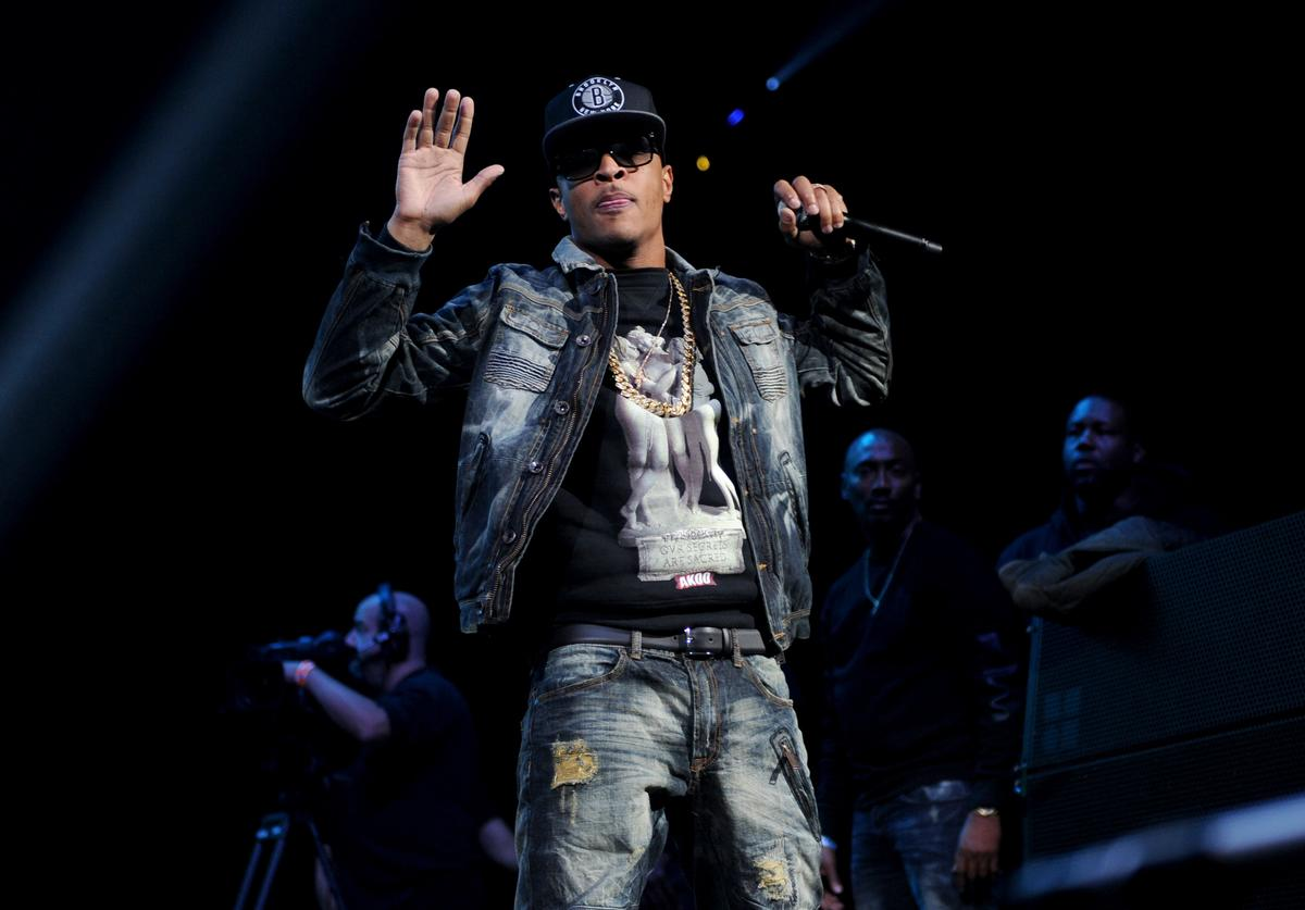 T.I. performs on stage at Power 105.1's Powerhouse 2014 at Barclays Center of Brooklyn on October 30, 2014 in New York City