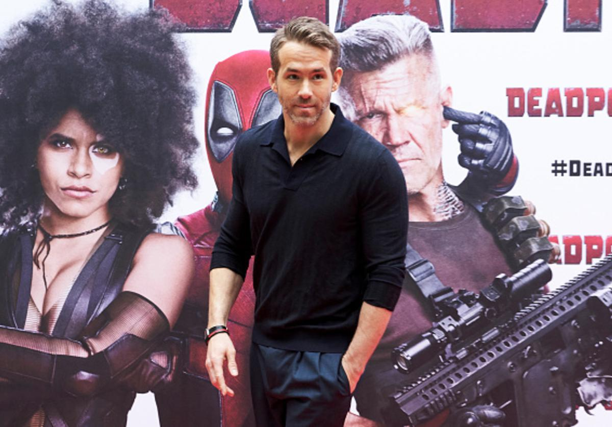 Actor Ryan Reynolds attends 'Deadpool 2' photocall at the Villamagna Hotel on May 7, 2018 in Madrid, Spain.