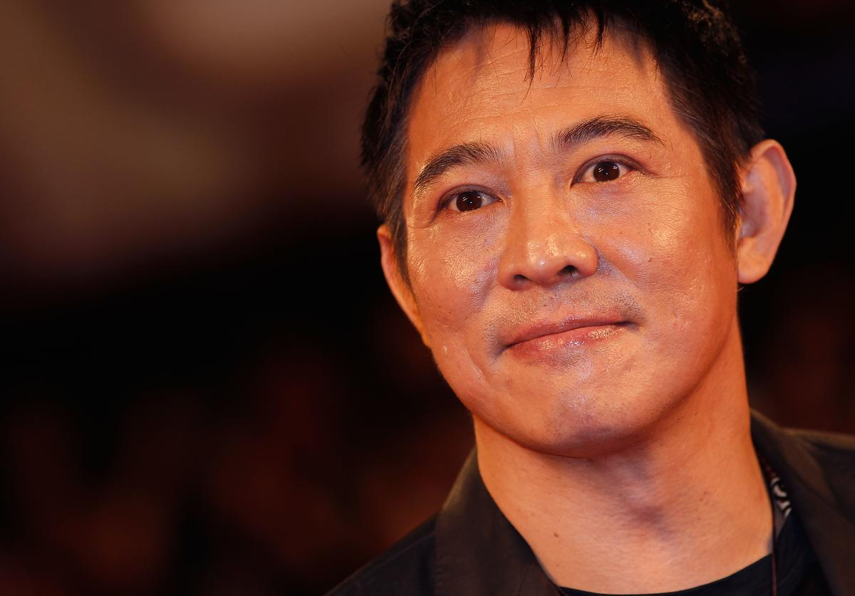 Jet Li attends the 'The Sorcerer And The White Snake' premiere during the 68th Venice Film Festival at Palazzo del Cinema on September 2, 2011 in Venice, Italy
