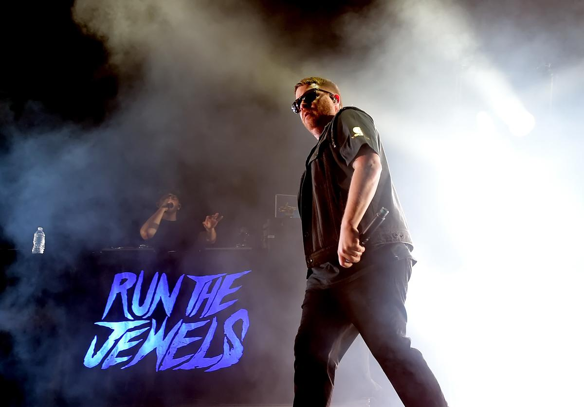 El-P of Run the Jewels performs onstage at Staples Center on March 14, 2018 in Los Angeles, California.