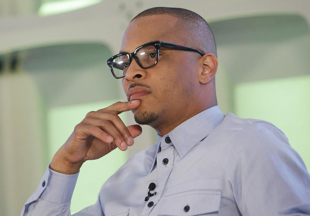 T.I. attends the BET Music Presents: Us Or Else panel discussion at the Viacom White Box Hall on April 6, 2017 in New York City