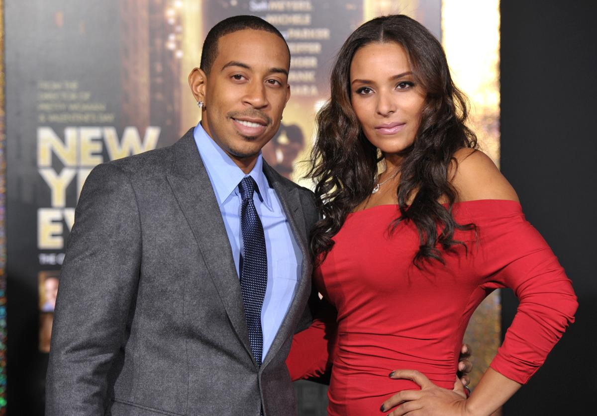 Chris Ludacris Bridges and Eudoxie arrive to the Premiere Of Warner Bros. Pictures' 'New Year's Eve' at Grauman's Chinese Theatre on December 5, 2011 in Hollywood, California