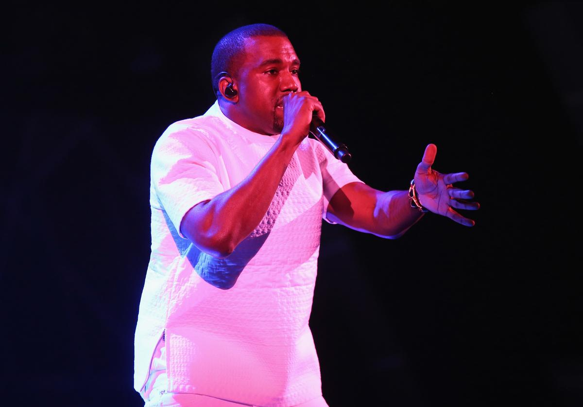 Kanye West performs onstage during the 2012 BET Awards at The Shrine Auditorium on July 1, 2012 in Los Angeles, California
