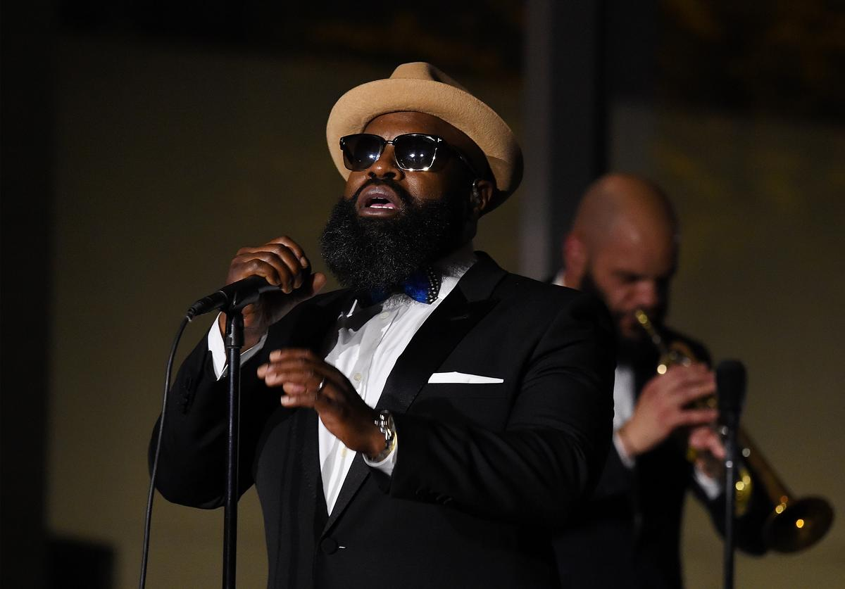 Rapper Tariq 'Black Thought' Trotter performs at the 2018 Modern Jazz Social at Museum of Modern Art on April 3, 2018 in New York City.