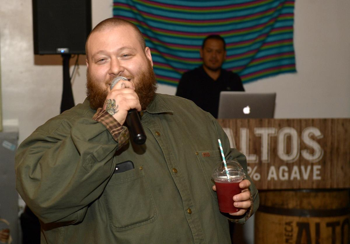 Olmeca Altos Tequila turned friends into family at The J. Hernandez and Sons Bodega pop-up series with host, Action Bronson on April 17, 2018 in Los Angeles, California