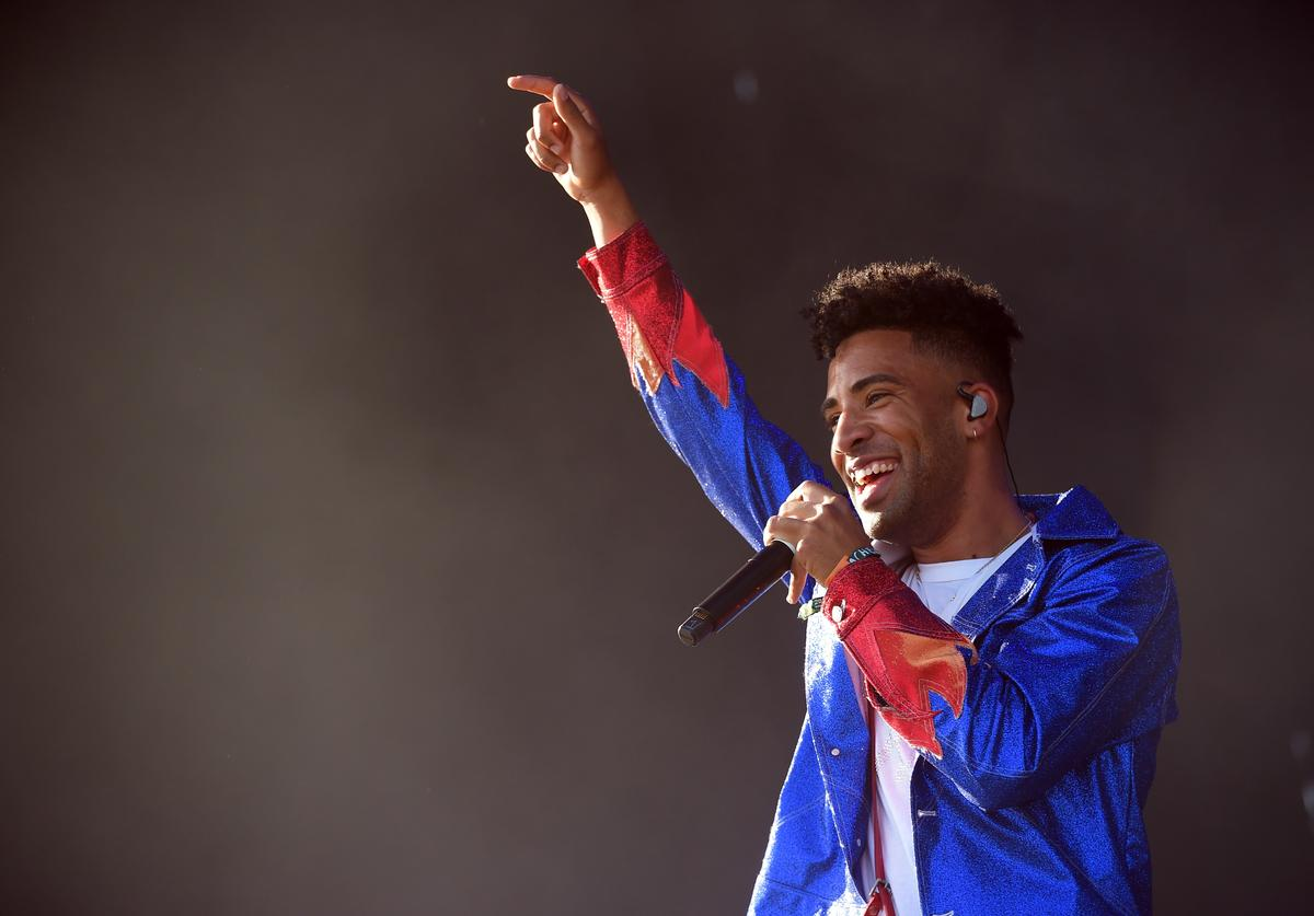 SuperDuperKyle performs onstage during the 2018 Coachella Valley Music And Arts Festival at the Empire Polo Field on April 13, 2018 in Indio, California.