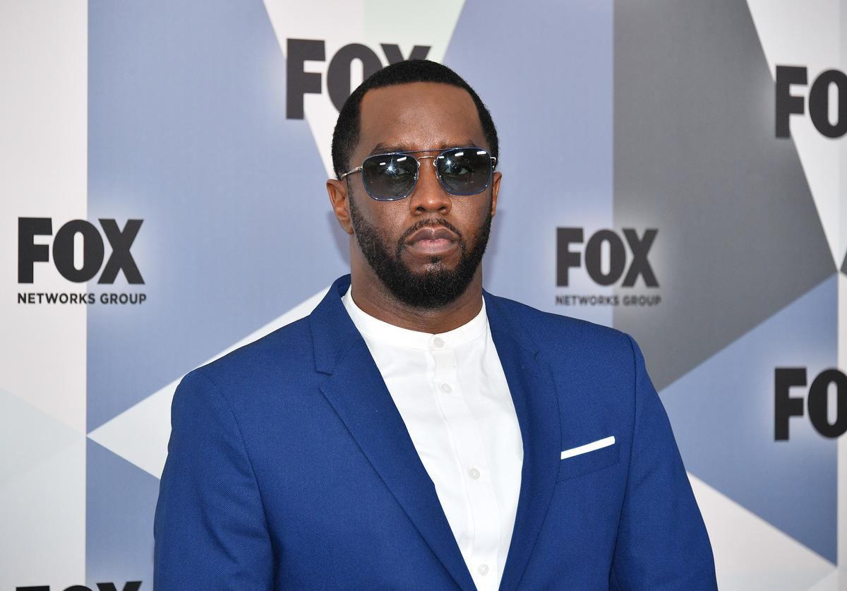 Sean 'Diddy' Combs attends the 2018 Fox Network Upfront at Wollman Rink, Central Park on May 14, 2018 in New York City.