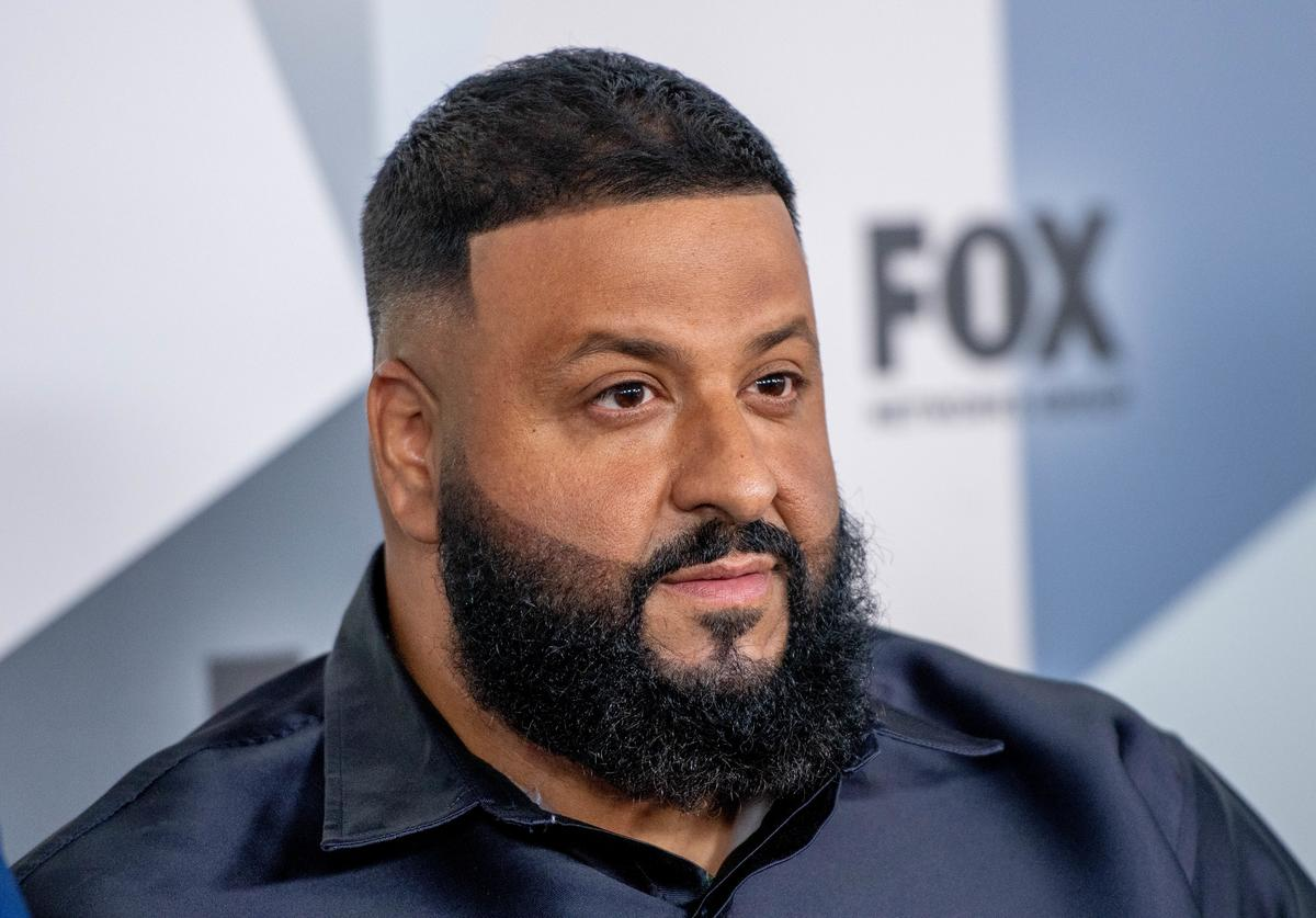DJ Khaled attends the 2018 Fox Network Upfront at Wollman Rink, Central Park on May 14, 2018 in New York City.