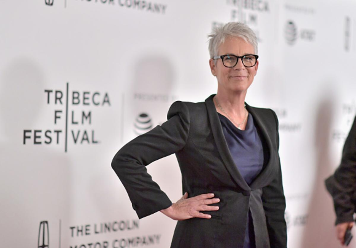 Jamie Lee Curtis attends the 'Hondros' Premiere during 2017 Tribeca Film Festival at Cinepolis Chelsea on April 21, 2017 in New York City.