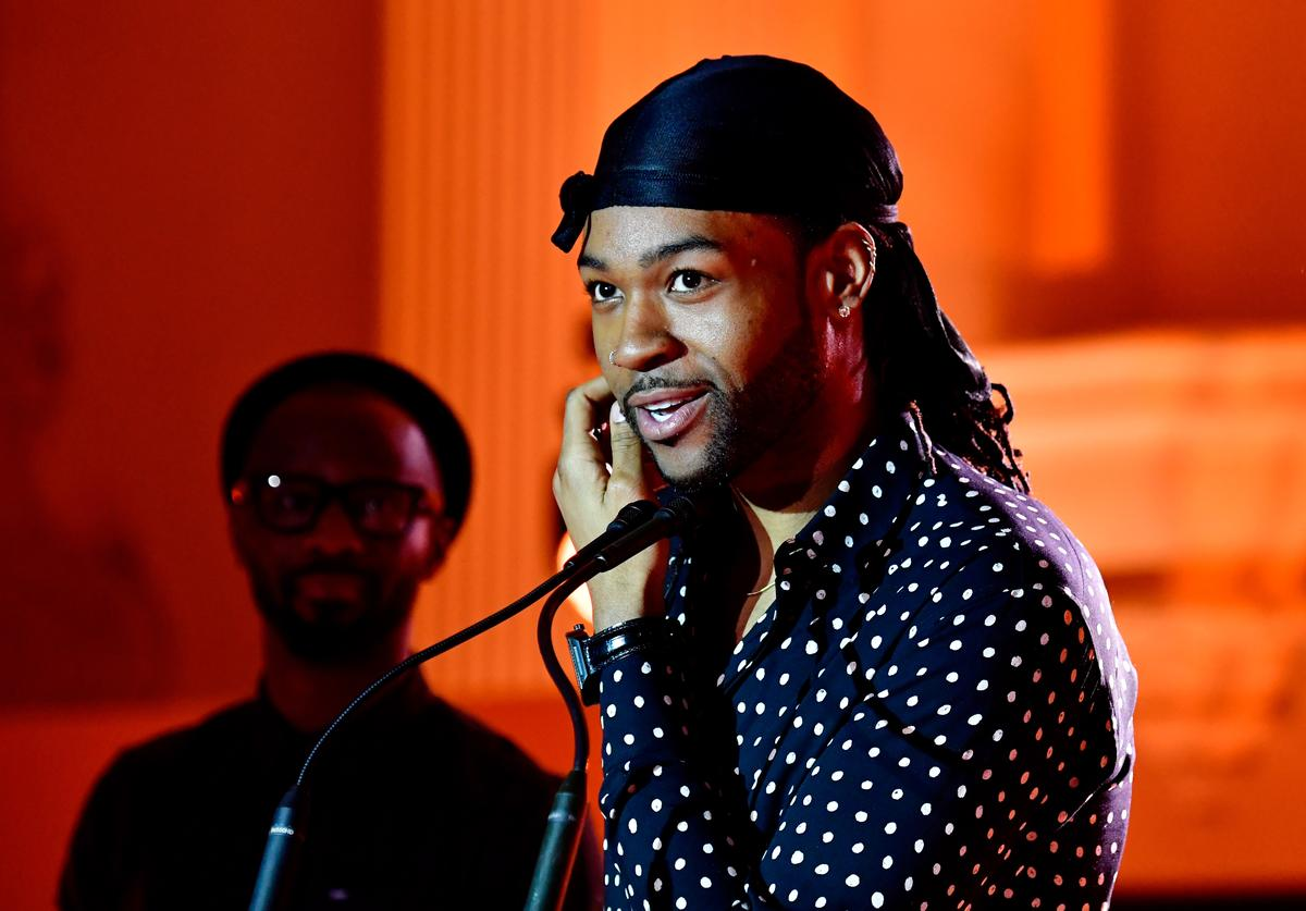 PartyNextDoor speaks onstage during the Spotify's Inaugural Secret Genius Awards hosted by Lizzo at Vibiana on November 1, 2017 in Los Angeles, California.
