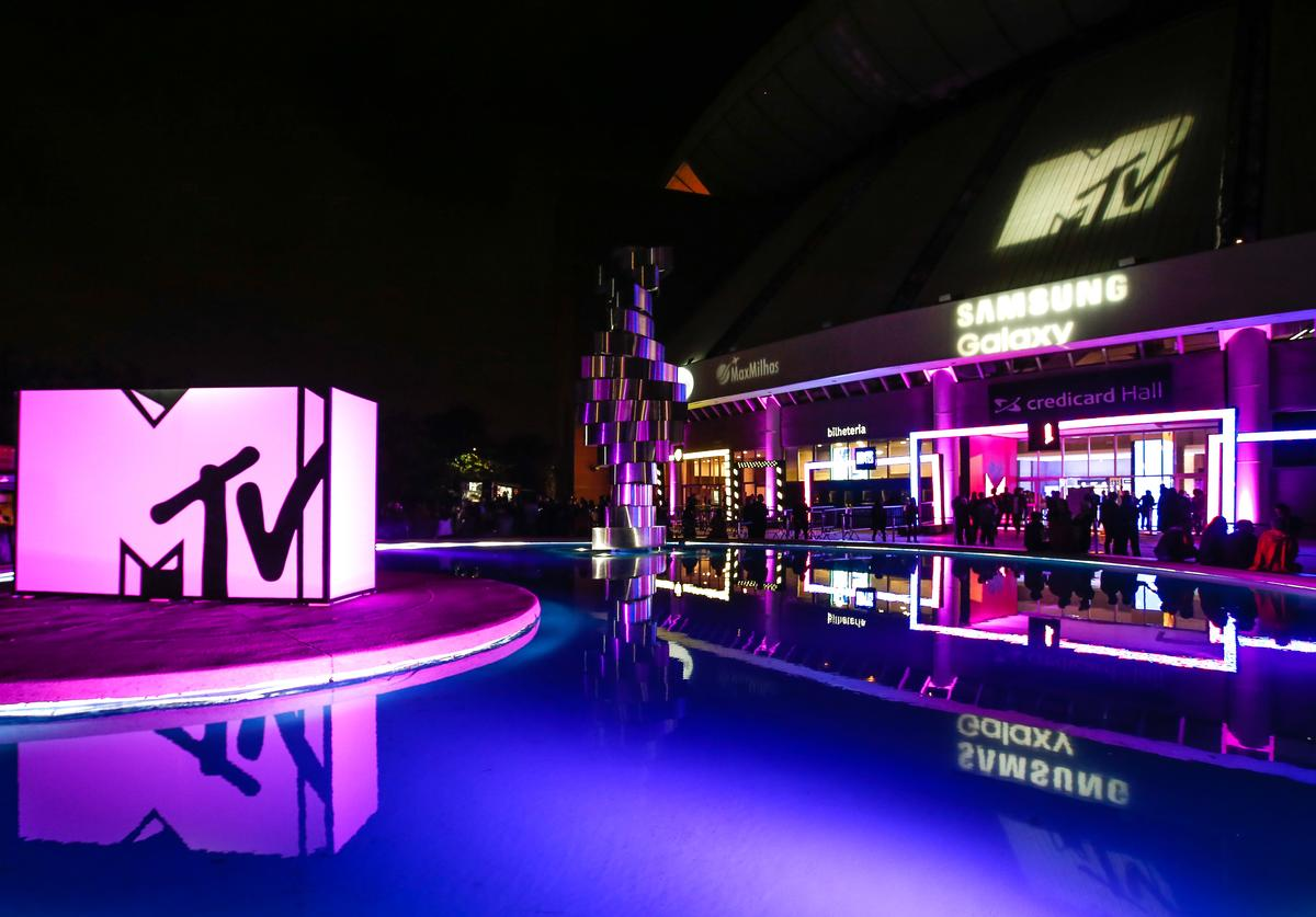 A general view of atmosphere at MTV MIAW 2018 at Citibank Hall on May 23, 2018 in Sao Paulo, Brazil.