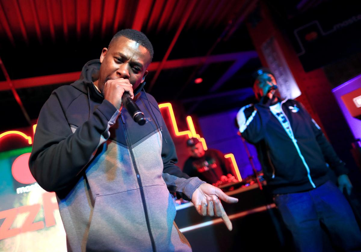 GZA performs onstage during #TBT Night Presented By Buzzfeed at Mastercard House on January 25, 2018 in New York City.