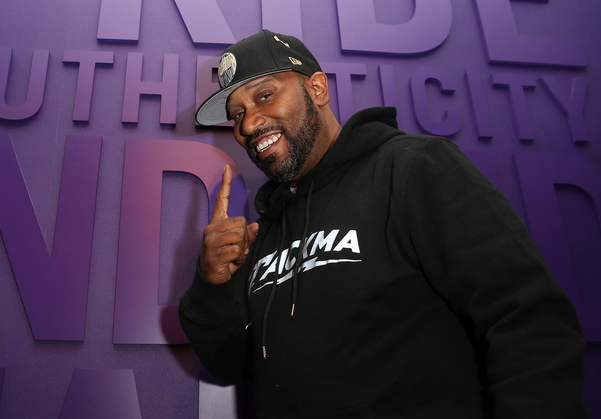 Bun B poses after performing at New Era Cap's Toronto flagship on February 12, 2016 in Toronto, Canada.