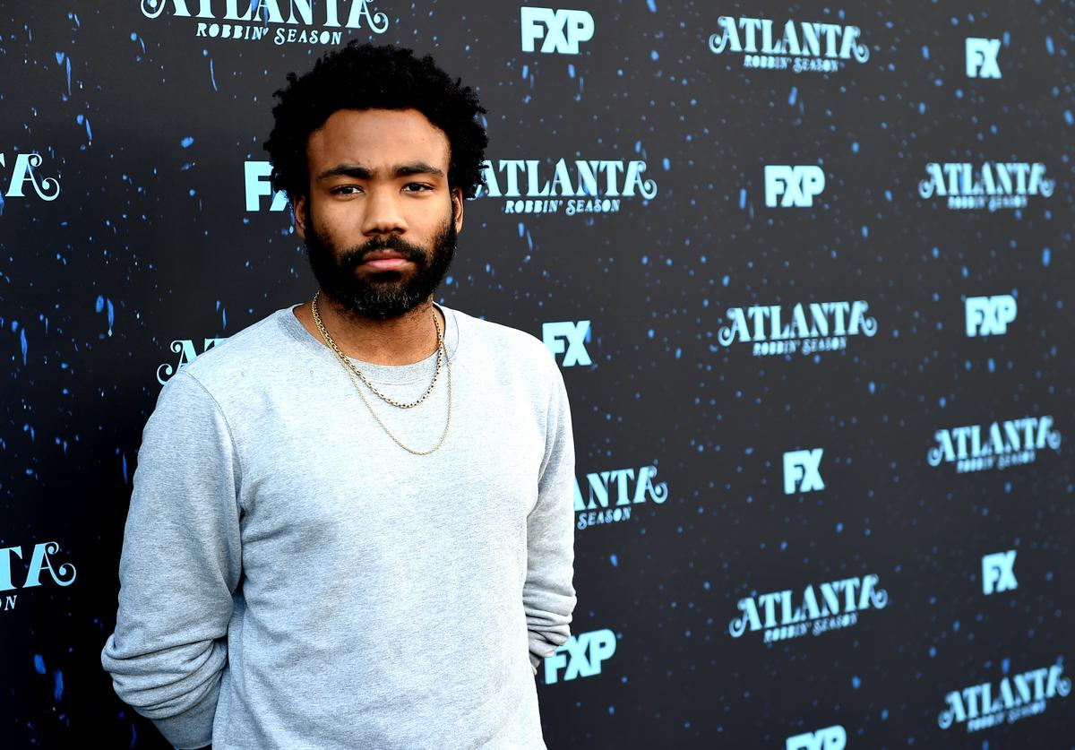 Creator/executive producer/writer/director/actor Donald Glover arrives at FX's 'Atlanta Robbin' Season' FYC Event at the Saban Media Center on June 8, 2018 in North Hollywood, California.
