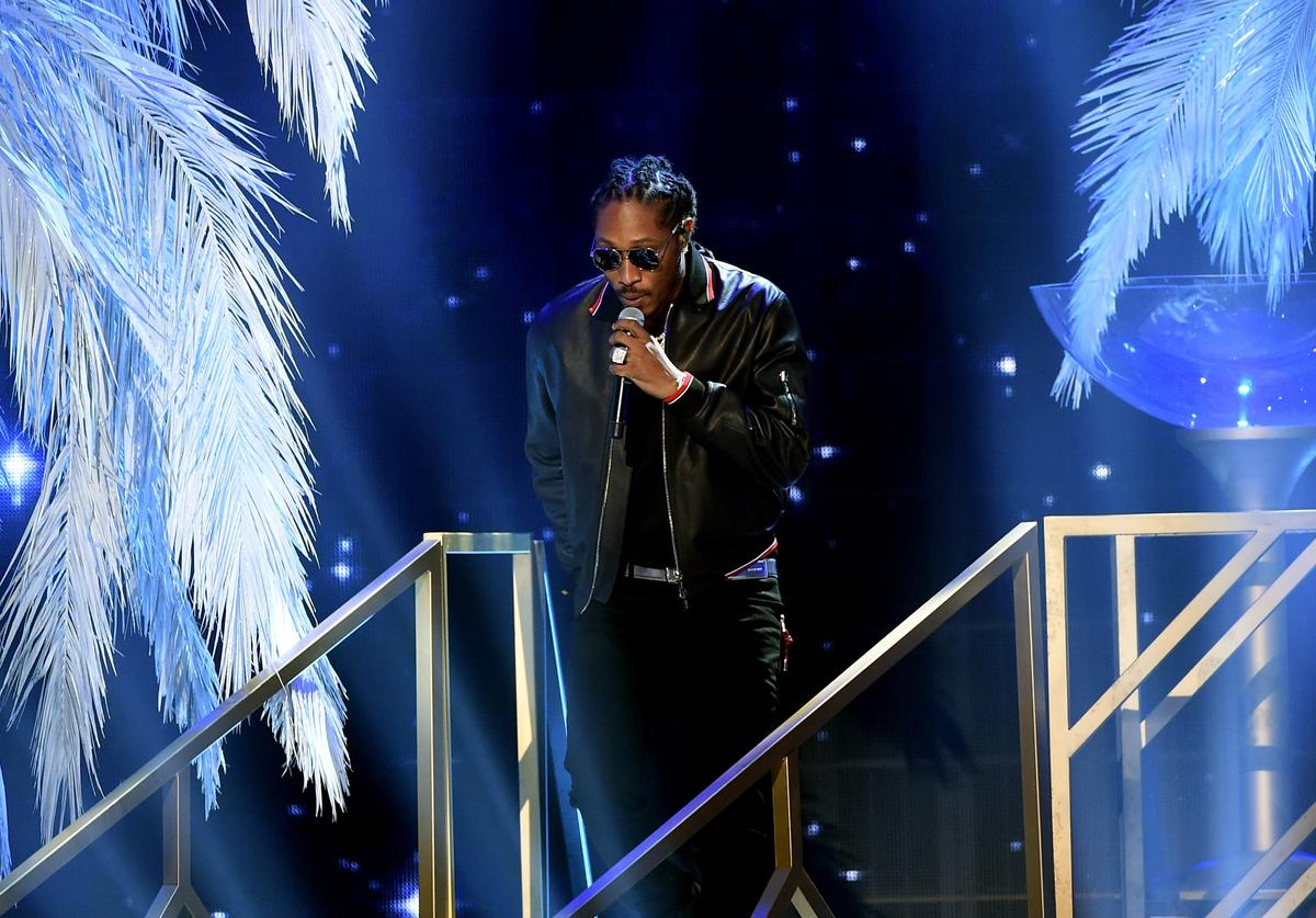 Future performs onstage during the 2016 American Music Awards at Microsoft Theater on November 20, 2016 in Los Angeles, California