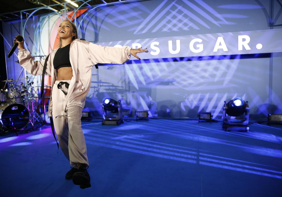 Tinashe attends day 1 of POPSUGAR Play/Ground on June 9, 2018 in New York City