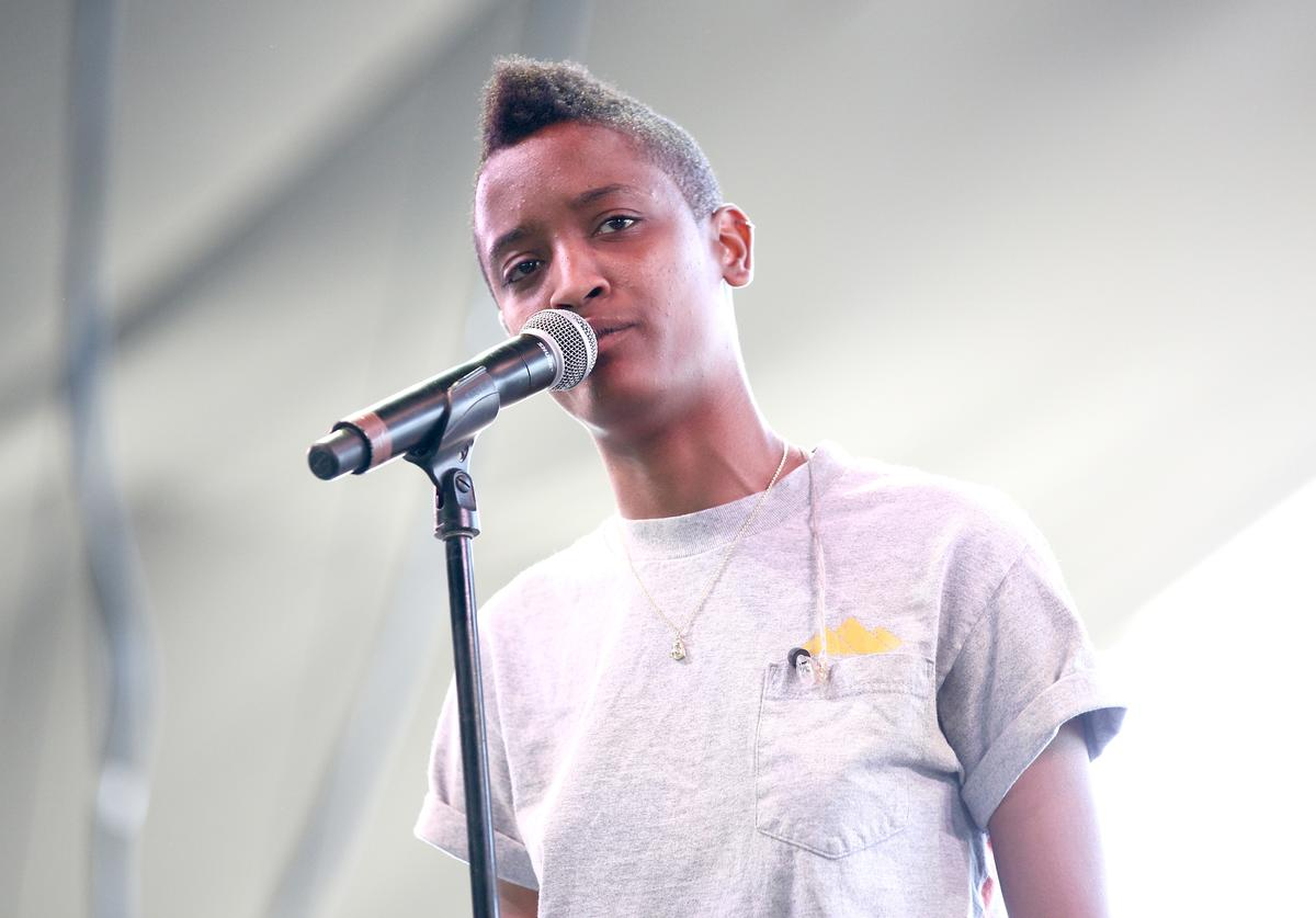 Syd The Kyd of The Internet performs onstage during day 2 of the 2014 Coachella Valley Music & Arts Festival at the Empire Polo Club on April 12, 2014 in Indio, California.