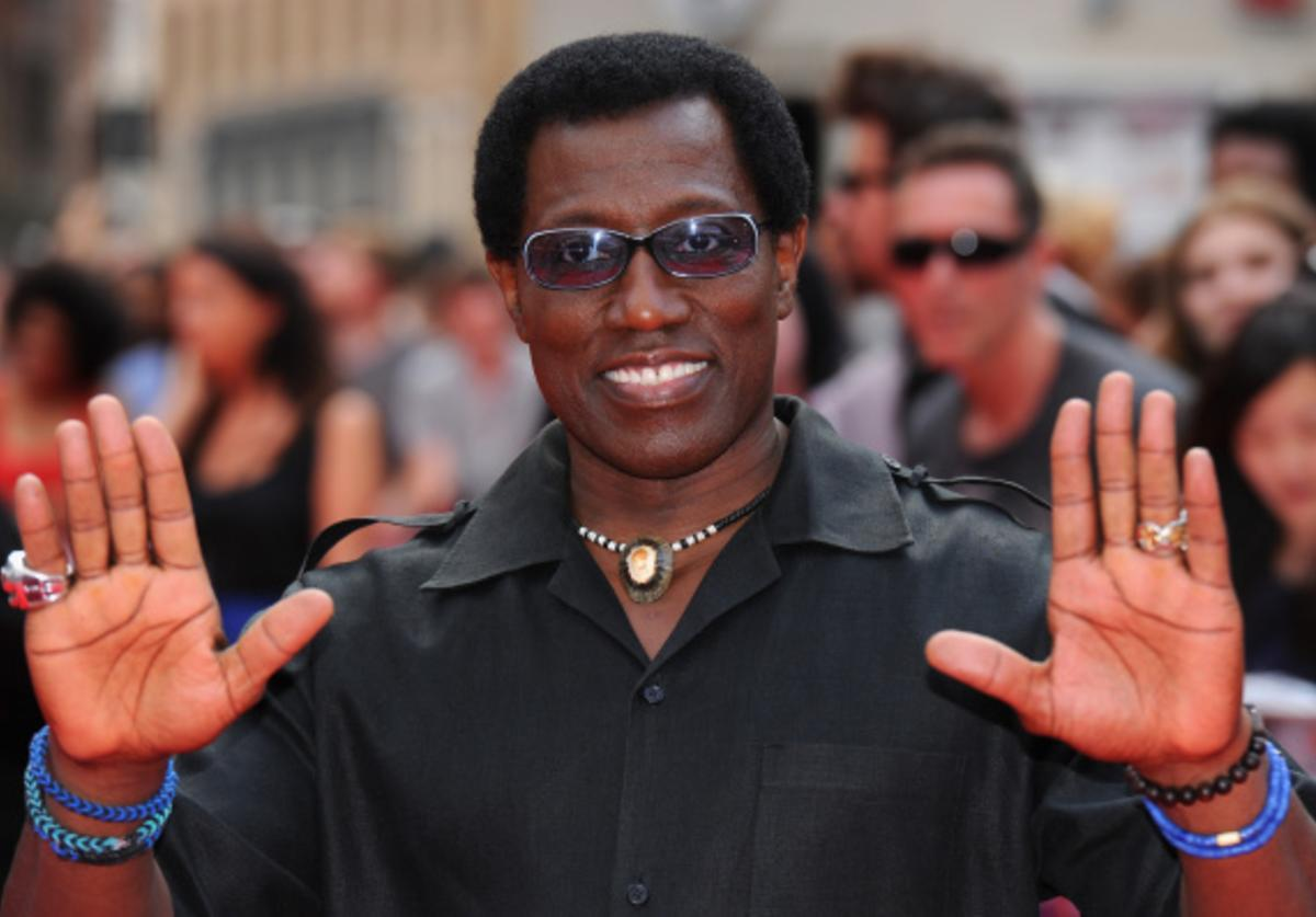 Wesley Snipes attends the World Premiere of 'The Expendables 3' at Odeon Leicester Square on August 4, 2014 in London, England.