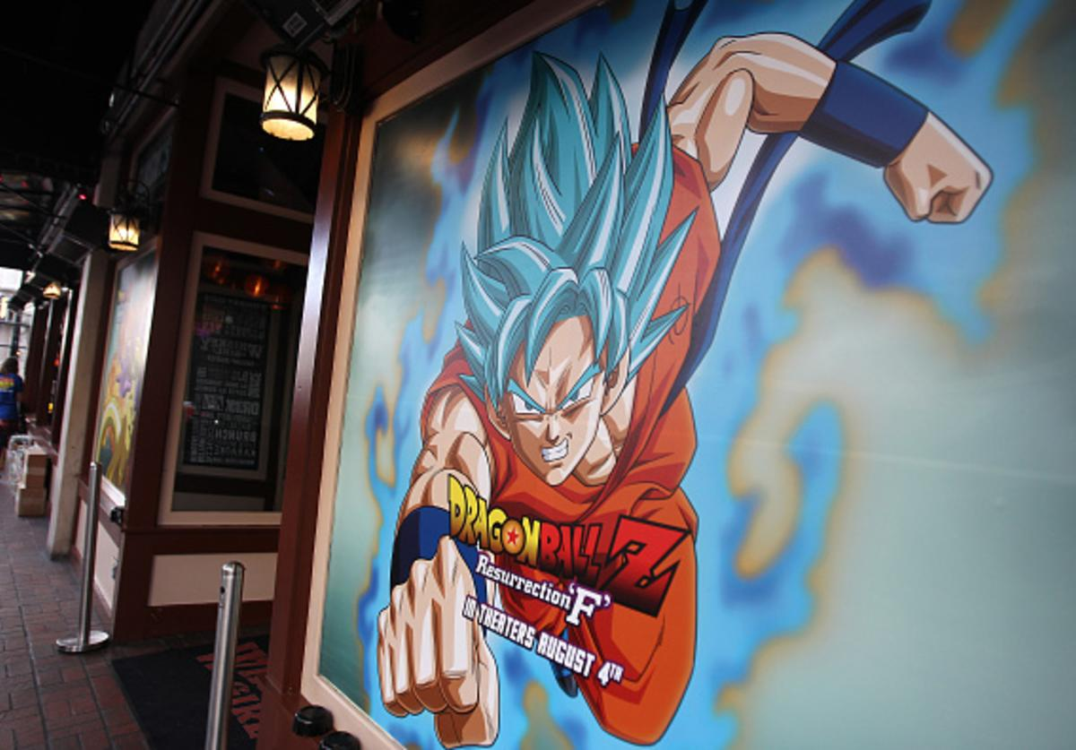 A generalview of atmosphere during the Dragon Ball Z: Resurrection 'F' San Diego Comic Con opening night VIP party held at Whiskey Girl on July 9, 2015 in San Diego, California