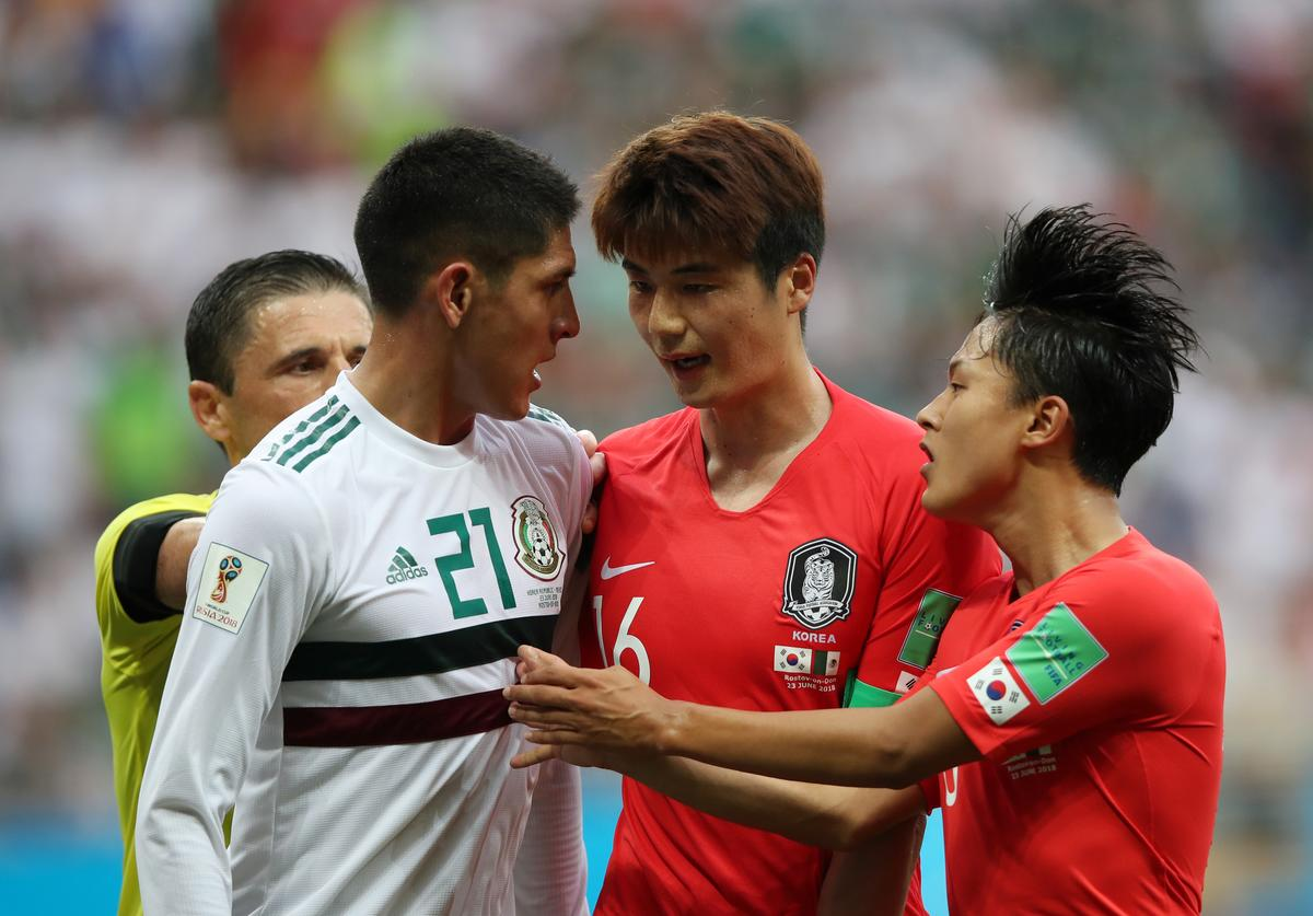South Korea vs Mexico