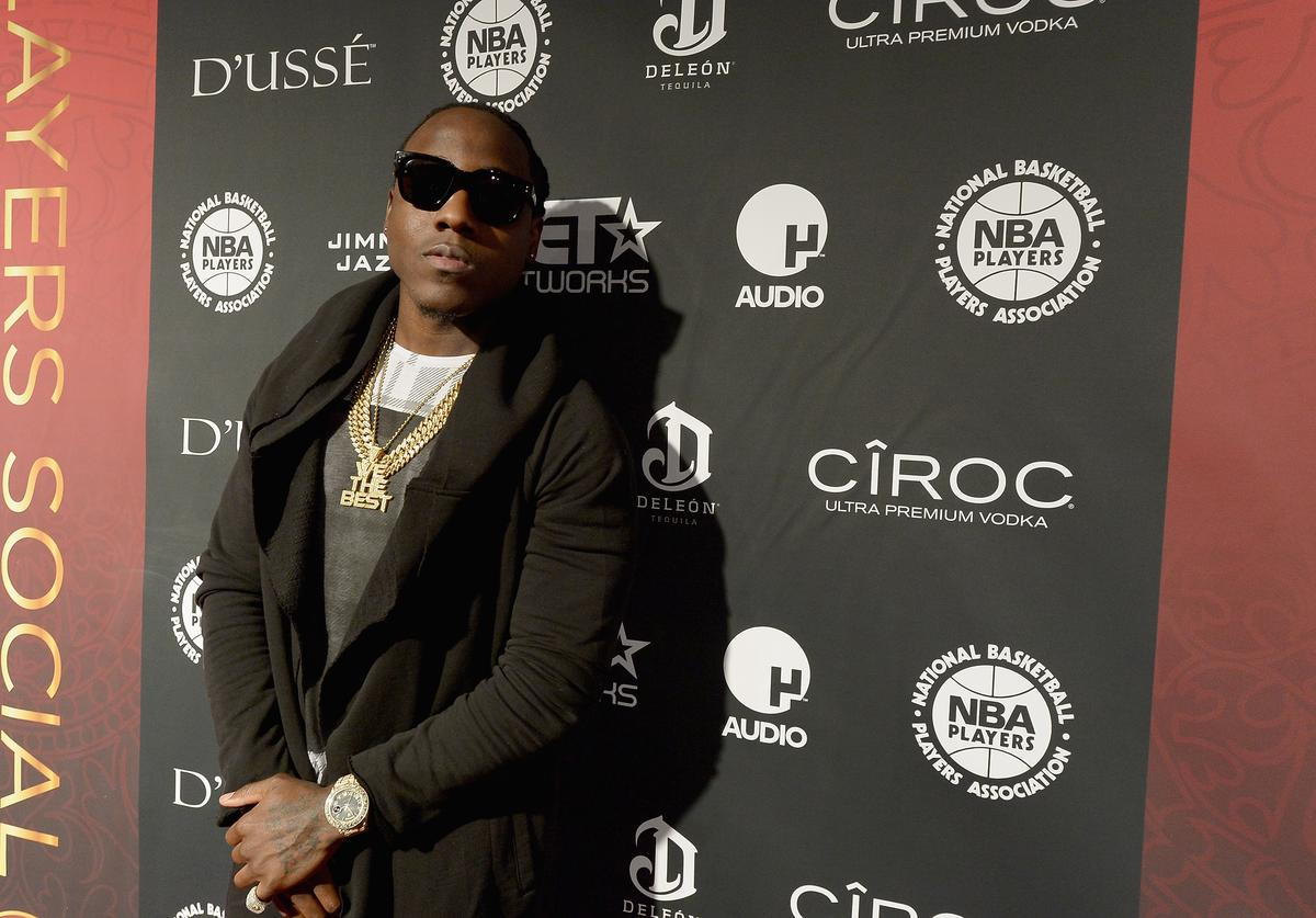Ace Hood attends the NBPA All-Star Players Social at Capitale on February 14, 2015 in New York City.