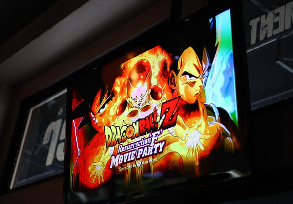 A generalview of atmosphere during the Dragon Ball Z: Resurrection 'F' San Diego Comic Con opening night VIP party held at Whiskey Girl on July 9, 2015 in San Diego, California.