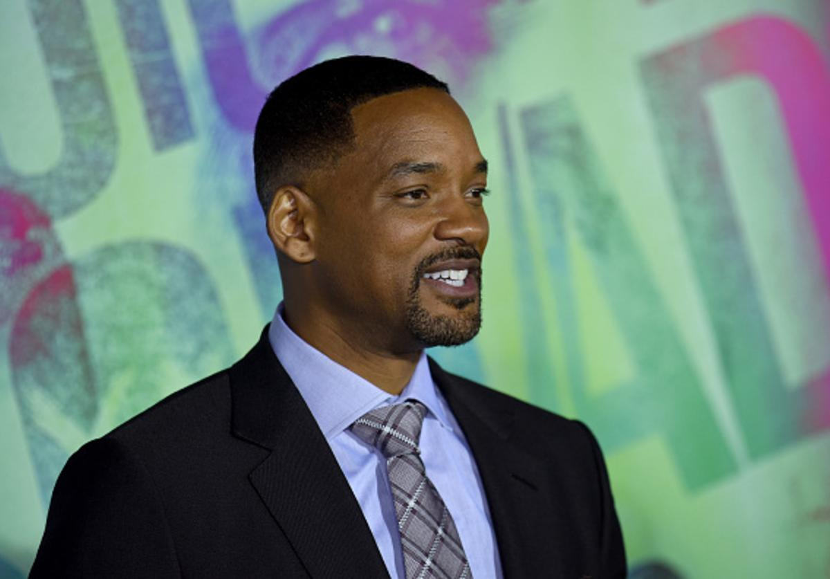 Actor Will Smith attends the Suicide Squad premiere sponsored by Carrera at Beacon Theatre on August 1, 2016 in New York City.