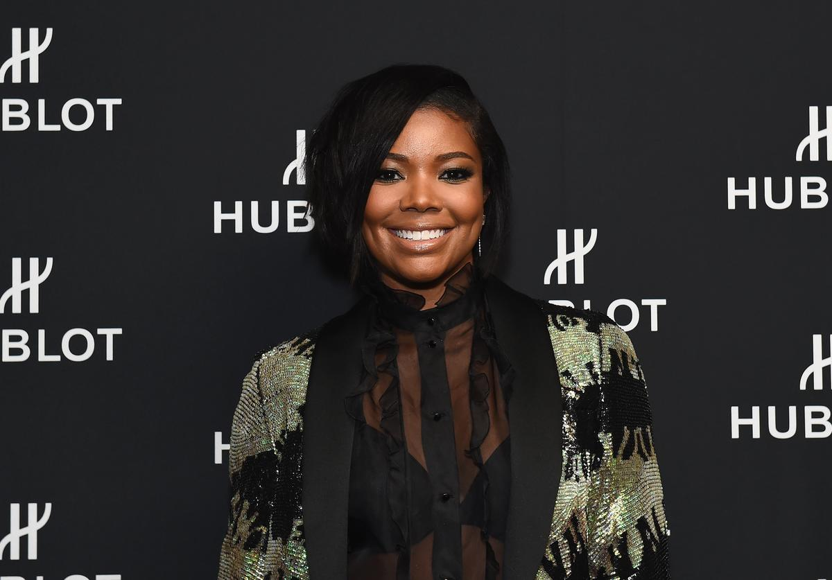 Gabrielle Union at Hublot NBA Draft viewing party.