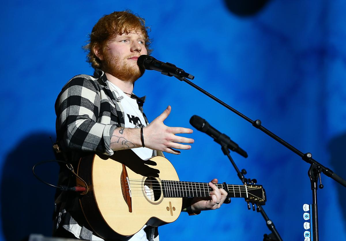 Ed Sheeran at at Optus Stadium on March 2, 2018 in Perth, Australia