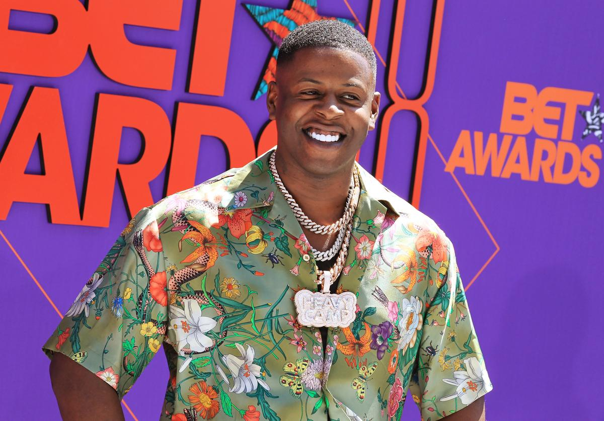 Blac Youngsta attends the 2018 BET Awards at Microsoft Theater on June 24, 2018 in Los Angeles, California